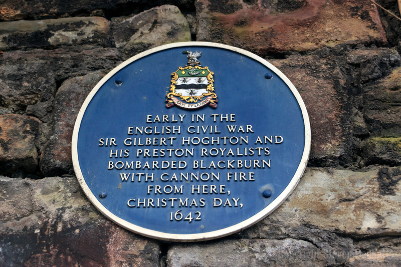 English Civil War Blue Plaque