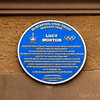 Lucy Morton Blue Plaque