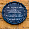 Captian James King Blue Plaque