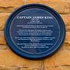 Captian James King Blue Plaque