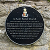 St. Paul's Parish Church Plaque