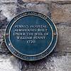Penny's Hospital Plaque