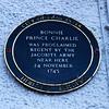Bonnie Prince Charlie Plaque