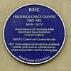 Frederick Grace Calvertt Blue Plaque