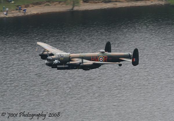 PA474/'HW-R' 'BQ-B' (BBMF) Lancaster B.1 - 16th May 2008.