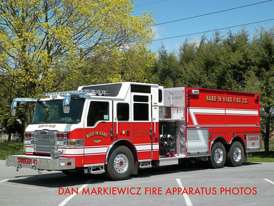 BIRD IN HAND FIRE CO. TANKER 4-1 2014 PIERCE TANKER/PUMPER