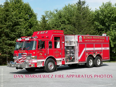 WITMER FIRE PROTECTIVE ASSN. ENGINE 62-2 2010 PIERCE TANKER/PUMPER