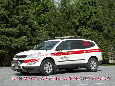 WITMER FIRE PROTECTIVE ASSN. CAR 62 2011 CHEVY OFFICERS UNIT