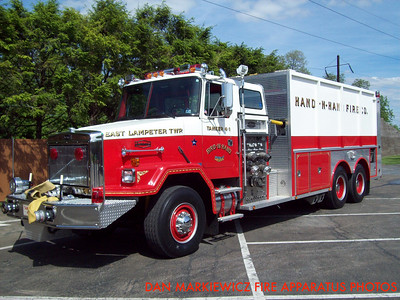 HAND IN HAND FIRE CO. FORMER TANKER 4-1 1990 AUTOCAR/ALLEGHENY TANKER