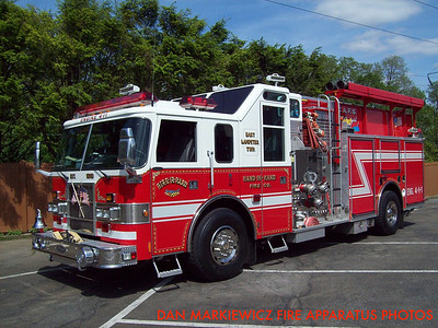 HAND IN HAND FIRE CO. ENGINE 4-1-1 2000 PIERCE PUMPER