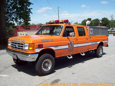 LAFAYETTE FIRE CO. SQUAD 6-3 1990 FORD SQUAD