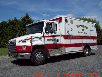 WITMER FIRE PROTECTIVE ASSN. SQUAD 4-10 1997 FREIGHTLINER/E-ONE SQUAD