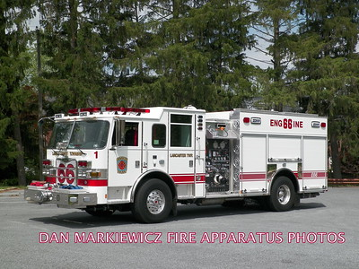 LANCASTER TWP. FIRE DEPT. ENGINE 66 2015 PIERCE PUMPER