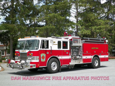 LANCASTER TWP. FIRE DEPT. ENGINE 66-1 1993 PIERCE PUMPER