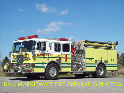 RAWLINSVILLE FIRE CO. ENGINE 5-8-1 1998 SEAGRAVE PUMPER