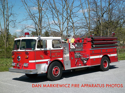 STRASBURG FIRE CO. ENGINE 5-10 1982 SEAGRAVE PUMPER