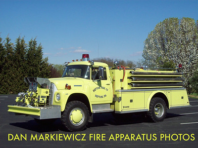 REFTON FIRE CO. BRUSH 5-9 1973 INTERNATIONAL/YOUNG BRUSH PUMPER