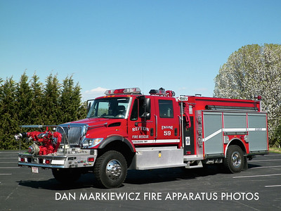REFTON FIRE CO. ENGINE 5-9 2003 INTERNATIONAL/DARLEY PUMPER