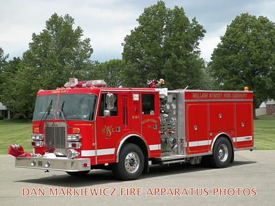 WILLOW STREET FIRE CO. ENGINE 50-1 1992 SIMON DUPLEX/SAULSBURY PUMPER
