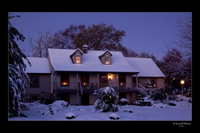 Waltons during the early morning blue hour.