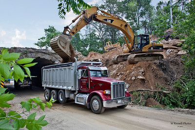 Removal of tunnel on 222 entering Quarryville