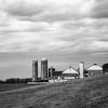 Farm in B&W