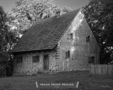 Hans Herr House, early morning