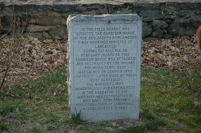 Rowlandson marker stone