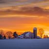 Sunrise at the Book Farm