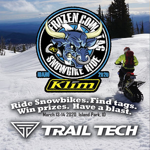 Trail Tech Event - Frozen Cow Tag