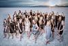 2017 Layton High Lancelles Team Pictures out at Bonneville Salt Flats