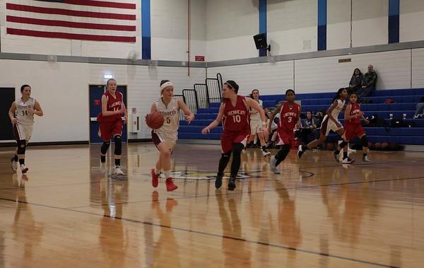 Lancer ladies -varsity basketball