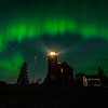 Mothers Day Aurora Around the Lighthouse