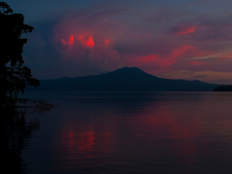 Night Over Papua New Guinea
