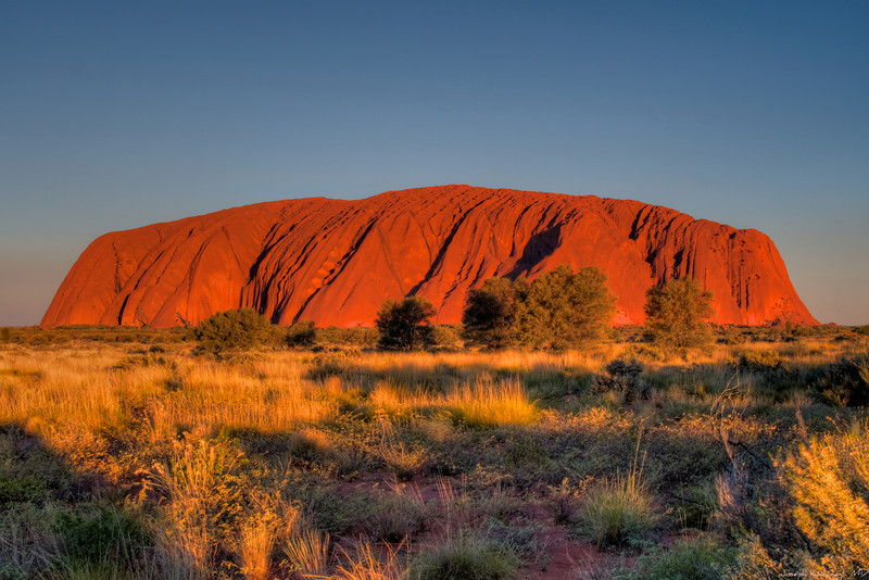 Uluru, Late Afternoon