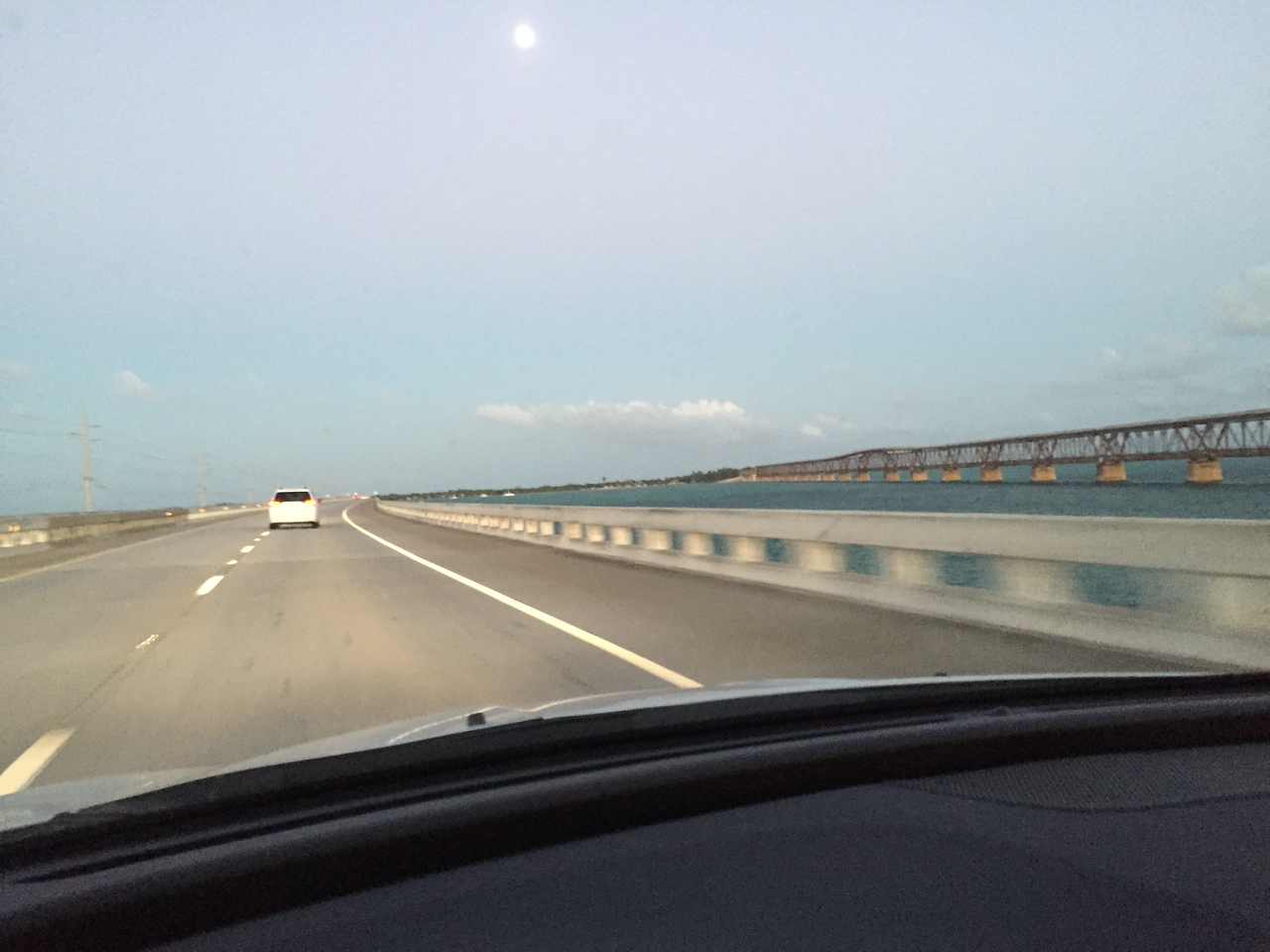 We enjoyed the drive over all the long bridges between Key Largo and Key West.  It took nearly two hours to travel the 95 miles back to the hotel.
