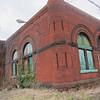 Abandoned public works building