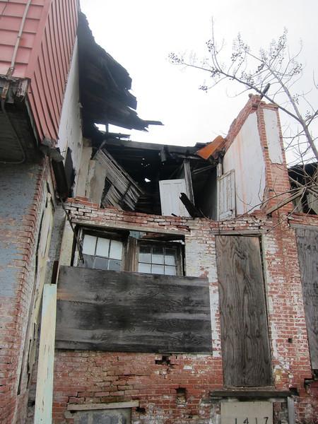 East Baltimore Ruin