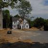 Construction near heawaters Gwynns Falls at Glyndon