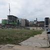Johns Hopkins Hospital area construction