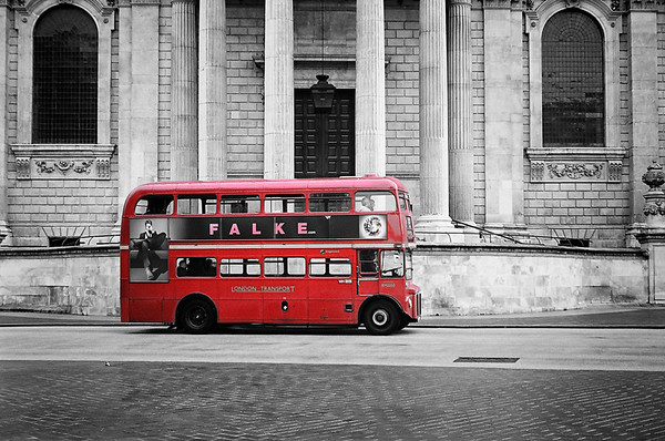 The Classic Red Bus   London UK 2014