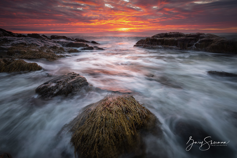 Dawn over Wallis Sands