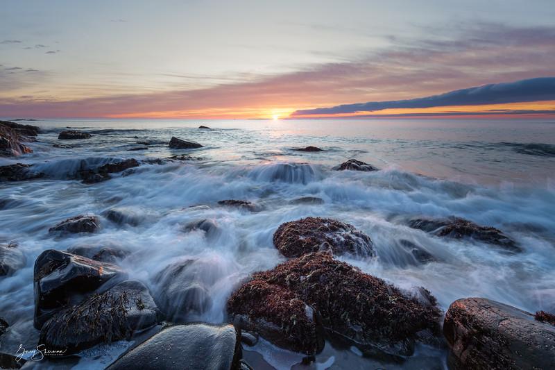 December Sunrise, Rye Coast