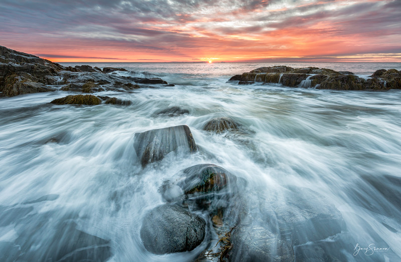 Sunrise over the Isles