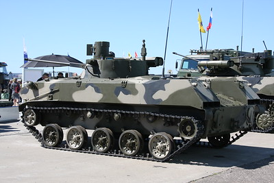 BMD-2M with Bereg turret