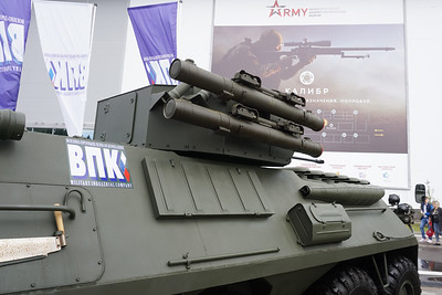 BTR-87 with version 2 turret
