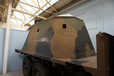 Bison Concrete Armoured Lorry