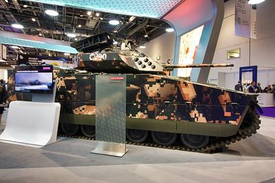 CV90 with E30 turret