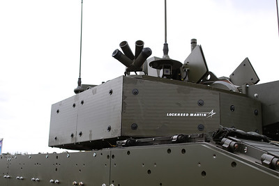 Warrior with 40mm Modular Turret