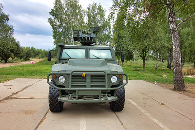 AMN 233114 Tigr-M with remote weapon station Arbalet-DM